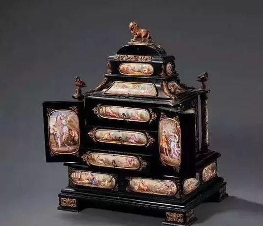一起来欣赏古代这些珠宝首饰盒,简直美翻了!