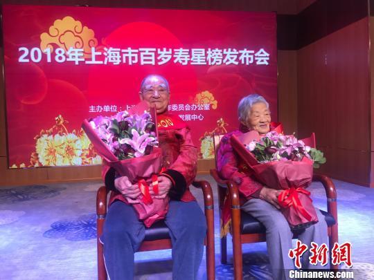 2018年上海百岁寿星榜公布:百岁以上2281人,最高寿老人111岁