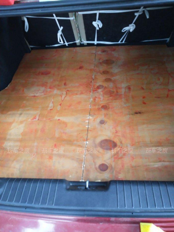 小三厢车也能躺着睡觉车友DIY把别克凯越改装成床车