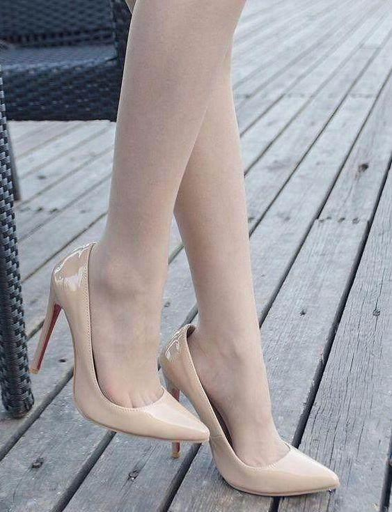 精致高贵的细高跟,穿上你就是焦点,可惜很多人都不敢穿!