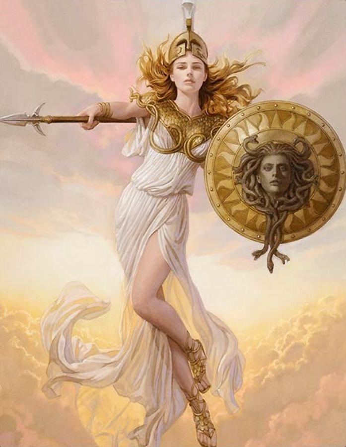 弥涅耳瓦(minerva),古希腊神话中司掌权力,战争以及才艺的女神,是主神