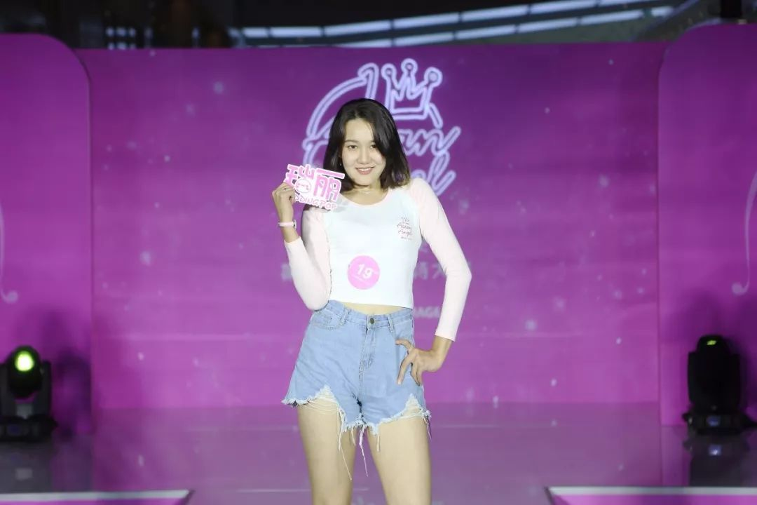 我是亚洲天使瑞丽模特大赛 大连十强惊艳亮相