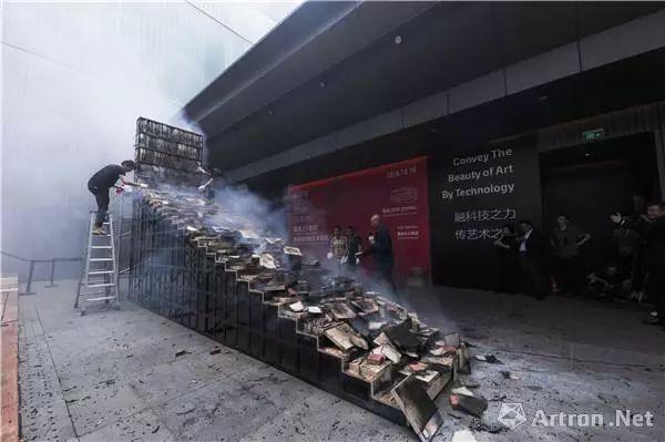 火药印刷术造纸术三大发明火光中碰撞!蔡国强为雅昌25周年&#8203