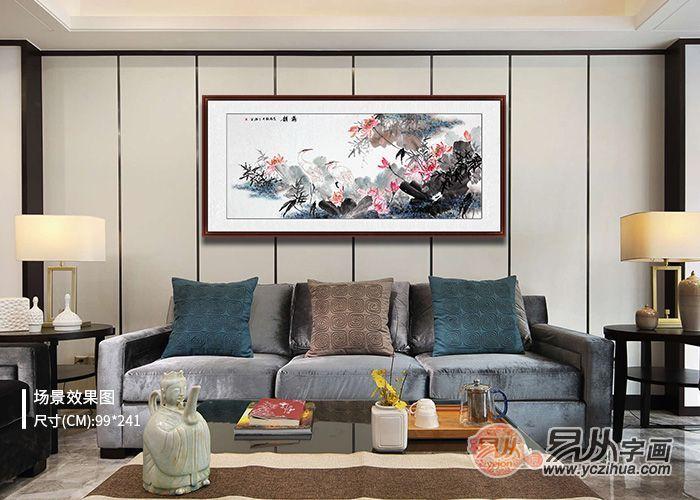 客厅沙发背景墙挂啥画,直接看文章一目了然