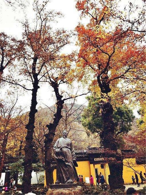 400年前,一人在苏州种下380棵树,今斑斓成仙境,成全国最美秋景