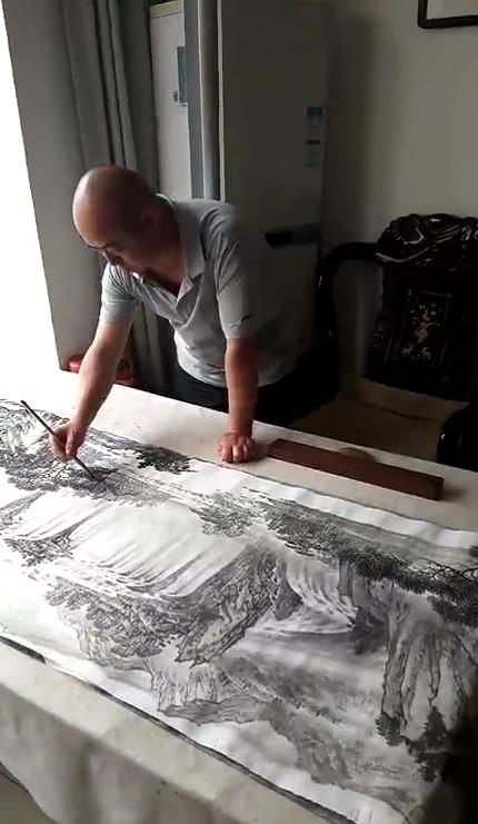 可贵者胆,所要者魂---醉心于山水间的画家林德坤