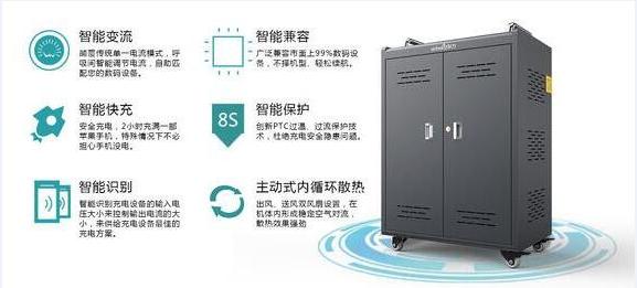 莱芜智能平板电脑充电柜多少钱一台_安和力科技