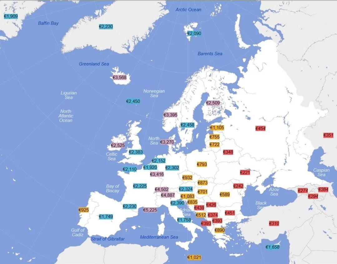 欧洲各国人口2100_人口普查