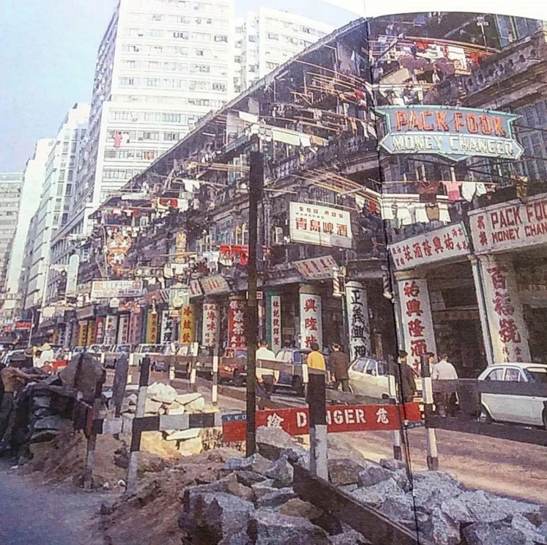 上海街(旧照)(图片源自@siuplk)图片