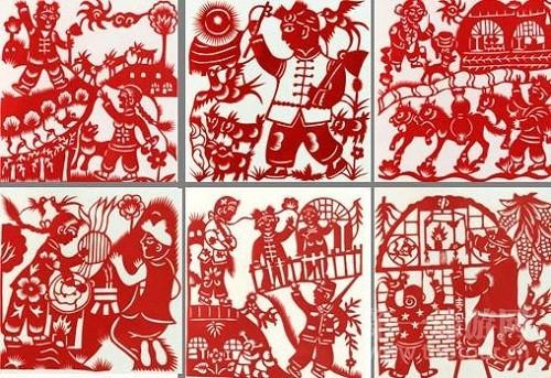榆林资源网|【转载】榆林民间传统文化艺术——佳县剪纸