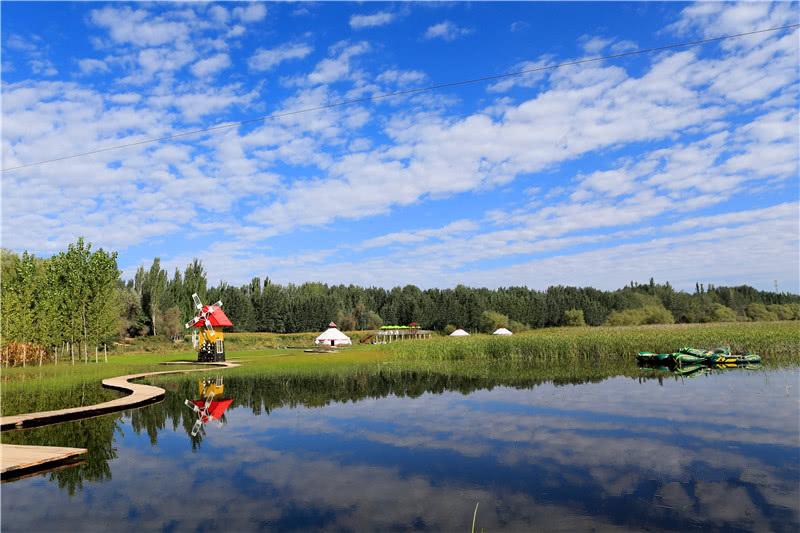康其湿地公园风景