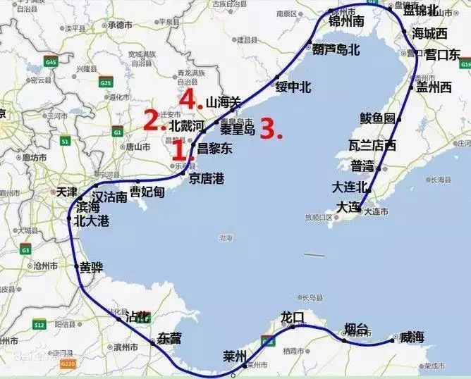 渤海新区规划图高清