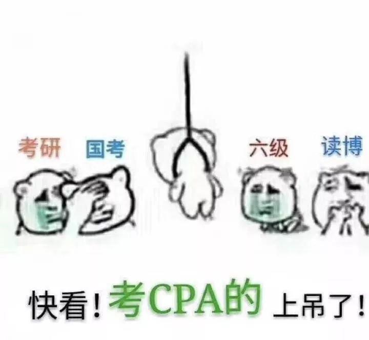 大批cpa考生哭到崩溃!《会计》考题偏到怀疑人生图片