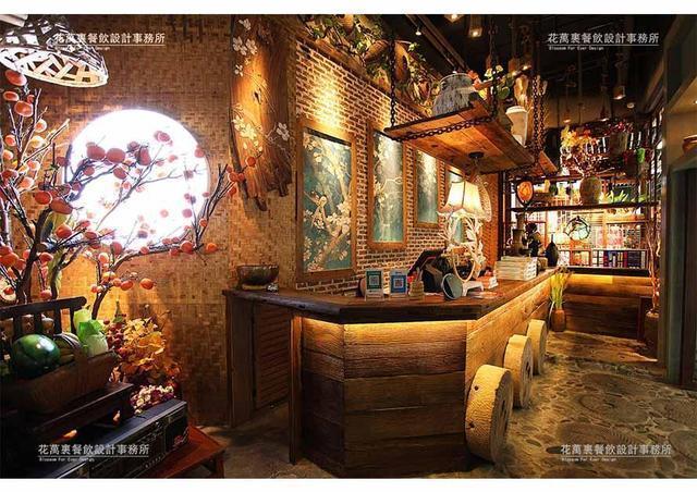 餐饮店面装饰设计:过桥仙居将温度和情感写入设计