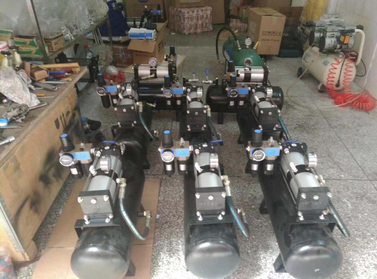 赛森特专为客户定制气动增压泵/气动增压系统图片