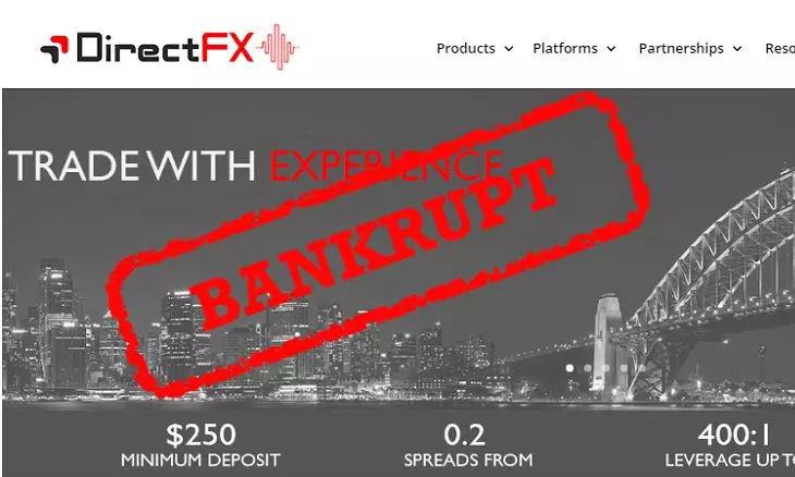 澳洲外汇经纪商Direct FX宣布破产!如何拿回资金?你该知道这些