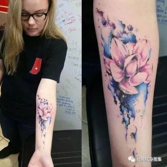 手臂花纹身素材