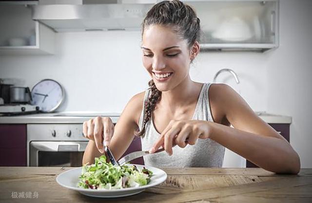 节食减肥偶尔吃一顿图片