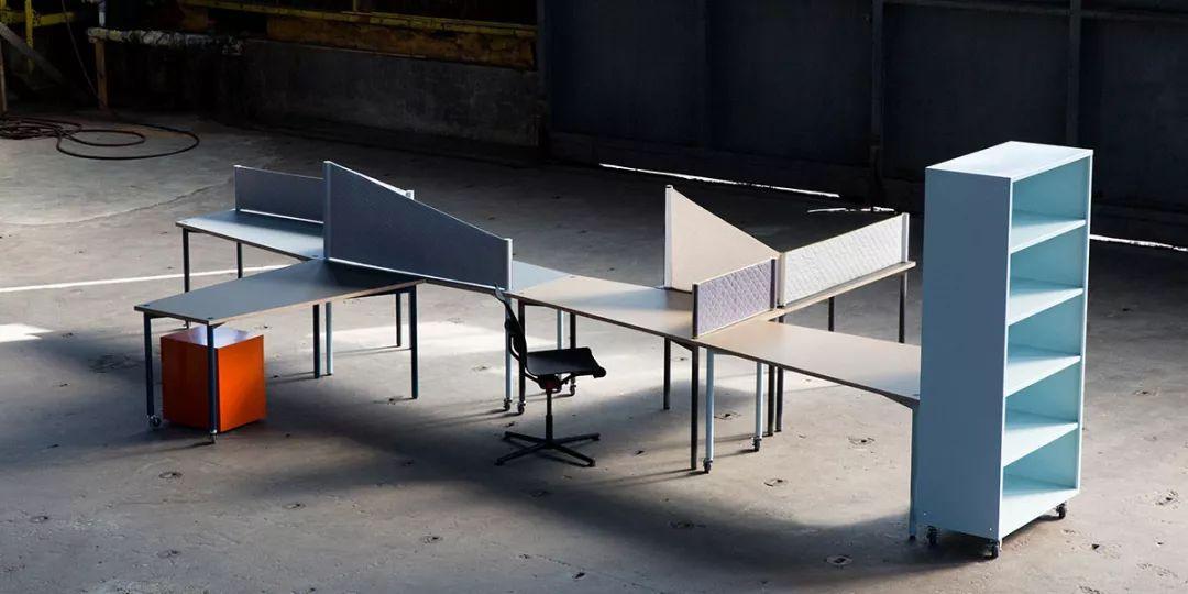 看看这7组办公室家具高效又舒适