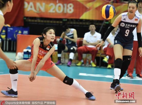 中国女排小组第1 以3:1逆转取胜