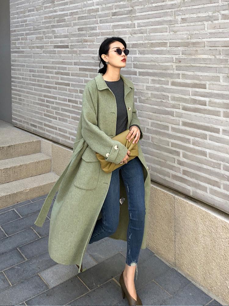 呢大衣+阔腿裤才是真时髦,今年最火的五种搭配,时尚圈都这么穿