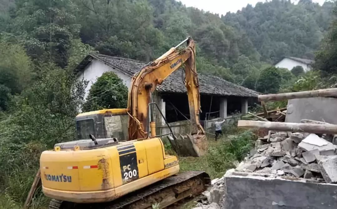 农村遭遇拆迁拆迁过程中频频发生怪事至今无人敢拆