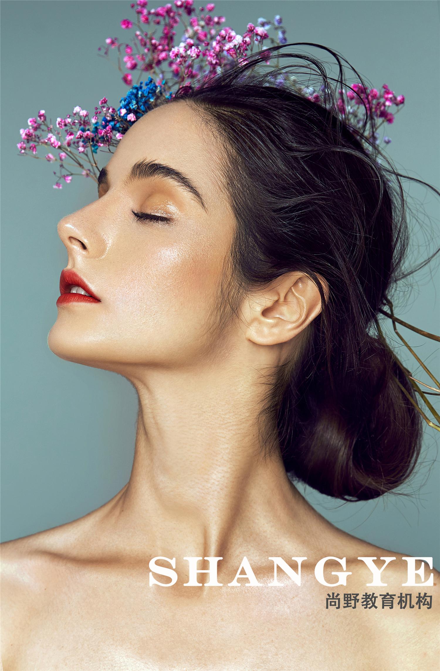 彩妆创意妆面造型图片