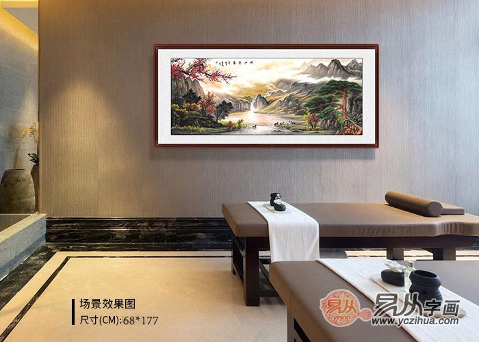 酒店大厅挂画,选这些装饰画,瞬间提升酒店格调
