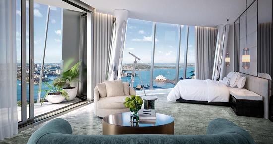 酒店及奢侈品牌房产风行全球富人圈