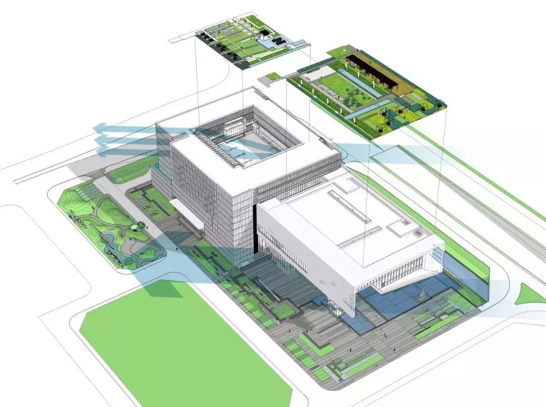广州市城市规划展览中心:根植场地,传承岭南 / 华南理工大学建筑设计图片