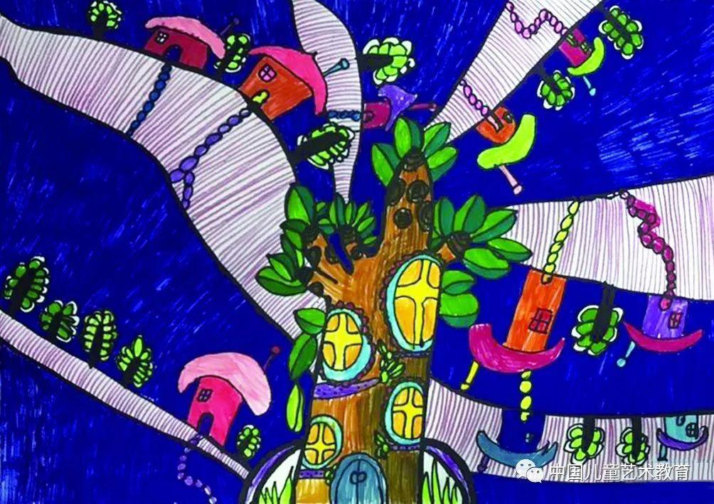 让儿童享受艺术的创作过程.图片