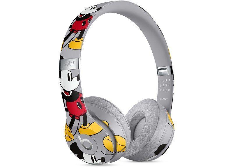 苹果推出米奇Beats Solo3无线耳机 售价 329.95 美元