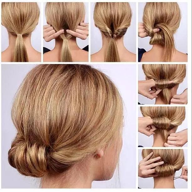 极简主义的发型比较适合爱整洁的处女座女孩,一丝不苟的态度正好图片