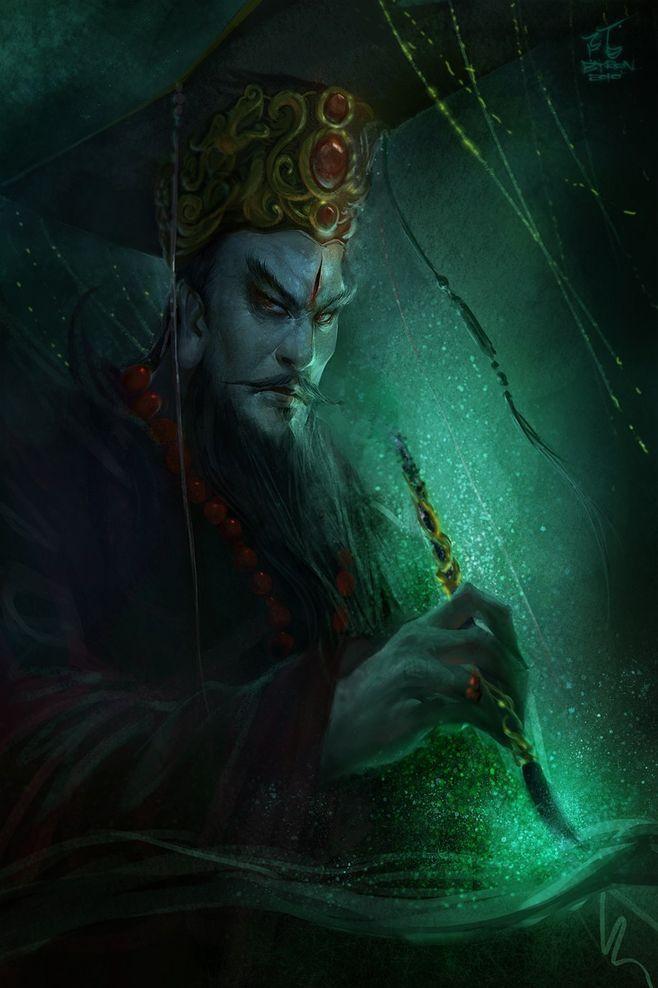 十殿阎罗是怎么来的,神话体系中的阴间到底是什么样子