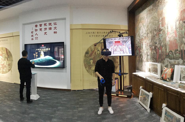"VR、AR、LM齐上阵 山西广胜寺的文物""活""起来了"