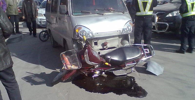 一起交通事故之后,交警判罚让人
