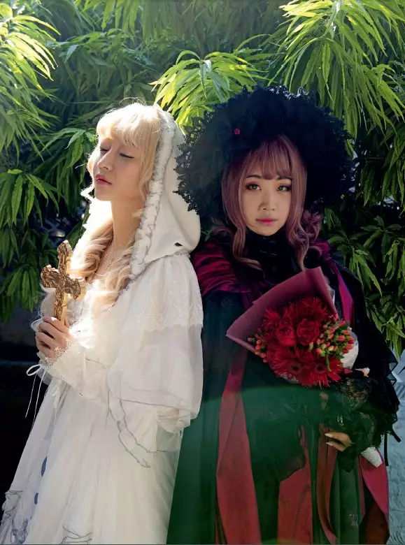 性感,可爱和无尽幻想:那些穿洛丽塔的女孩们
