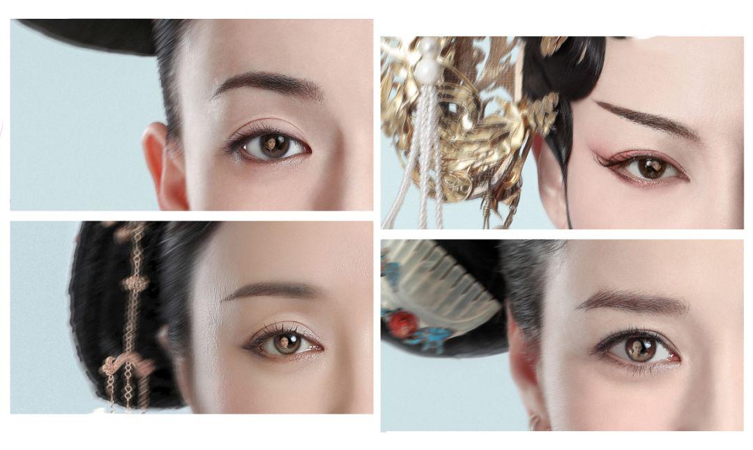 如长脸适合平眉;方面则拉高眉峰;而菱形脸眉毛要弯,没有明显眉峰图片