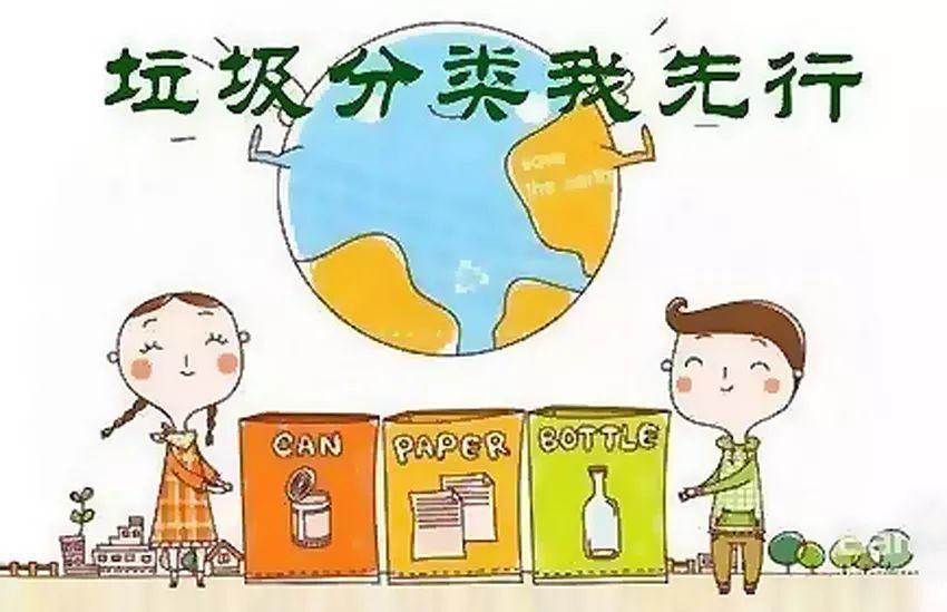 【垃圾分类 人人有责】新成路幼儿园与小蜜蜂幼儿园开展垃圾分类主题图片