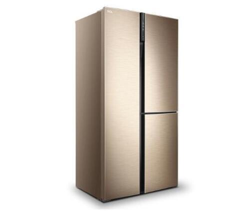 时尚造型给你新鲜感觉 论TCL502升T型对开三门冰箱