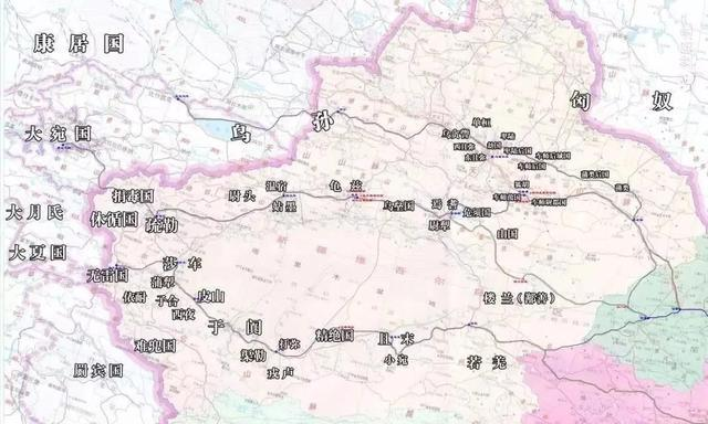 古代西域三十六国,绿洲千里(九)图片