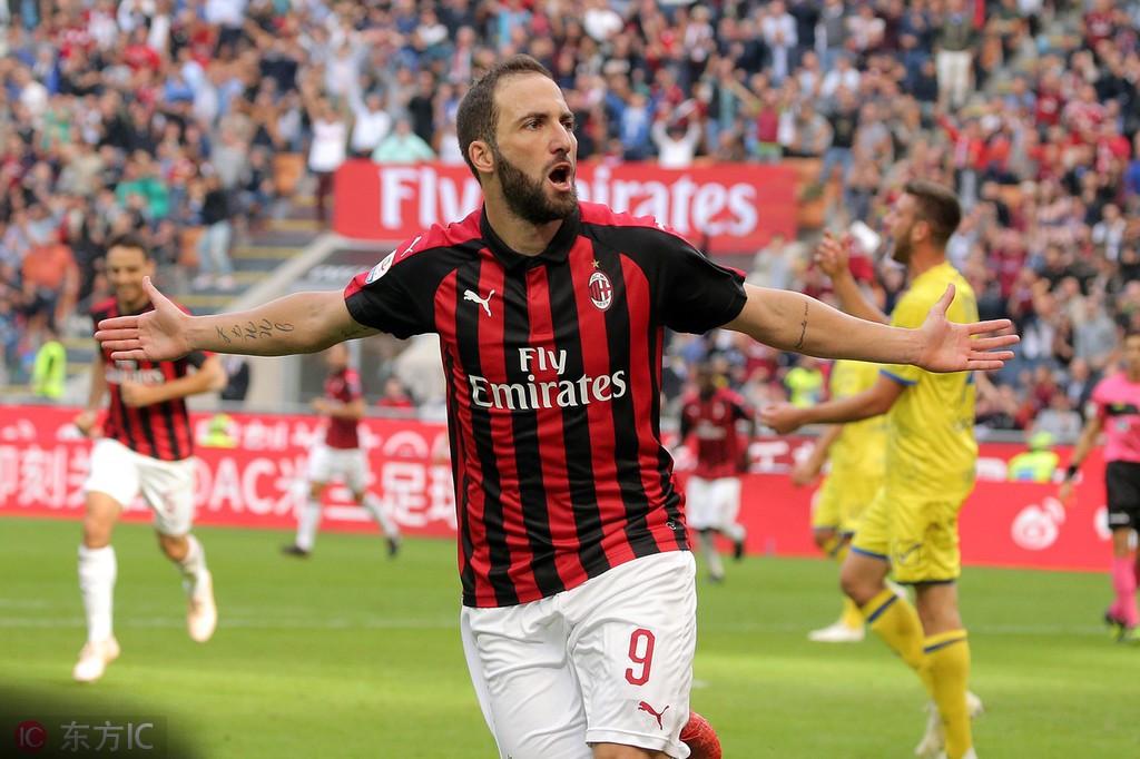 伊瓜因:米兰要赢欧联杯和意大利杯,切尔西今夏确实追过我