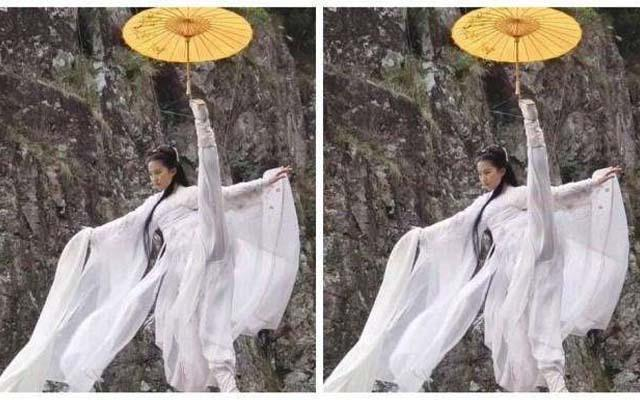 女明星演员们在剧中撑伞姿势谁最美? 时尚娱乐 图5