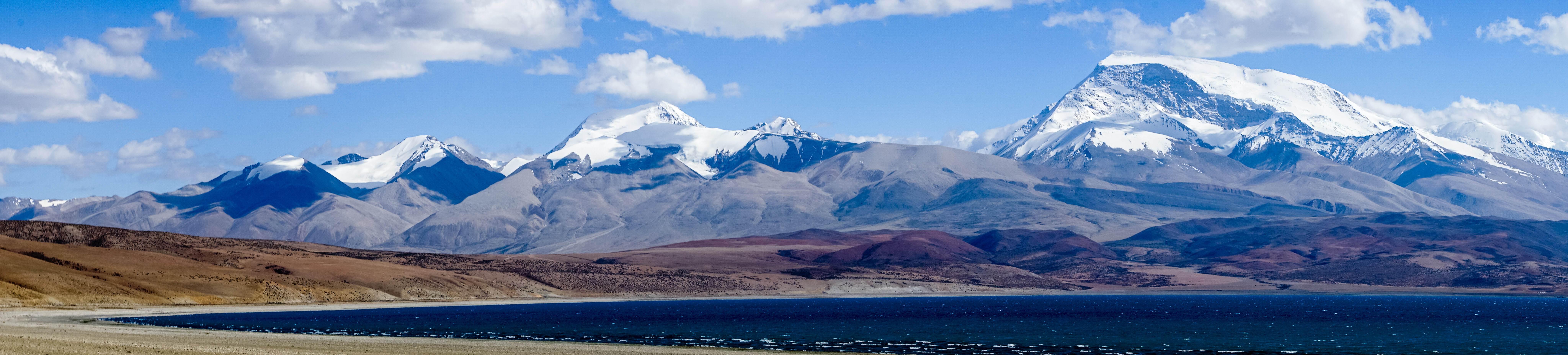 """西藏阿里不仅仅只有冈仁波齐 中印尼三国交界的""""神女峰""""人少景更美"""