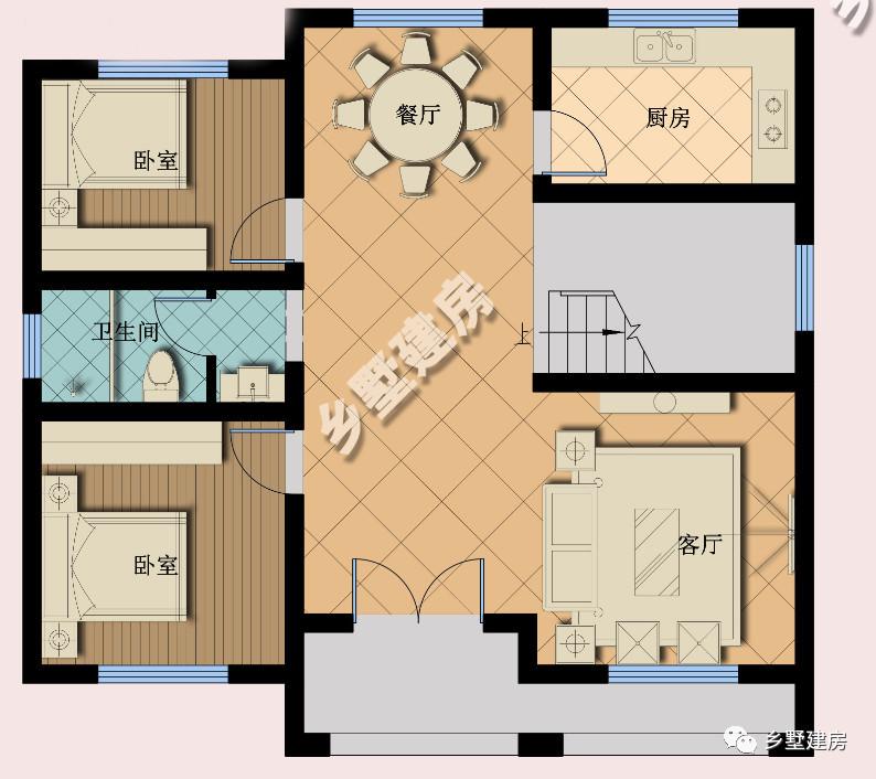 精选两款款三层农村自建房图纸,每一款风格都让人心生