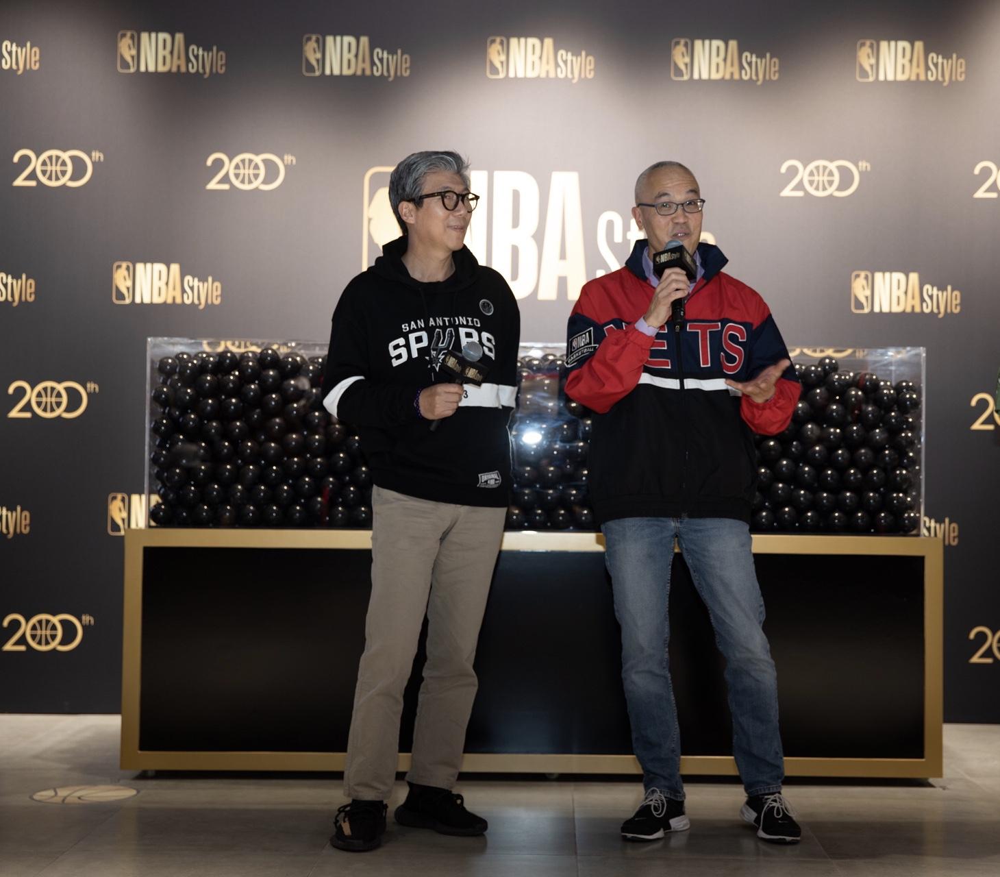 潮流服饰,NBA潮流服装店推出全新NBA Style标志专注时尚生活领域