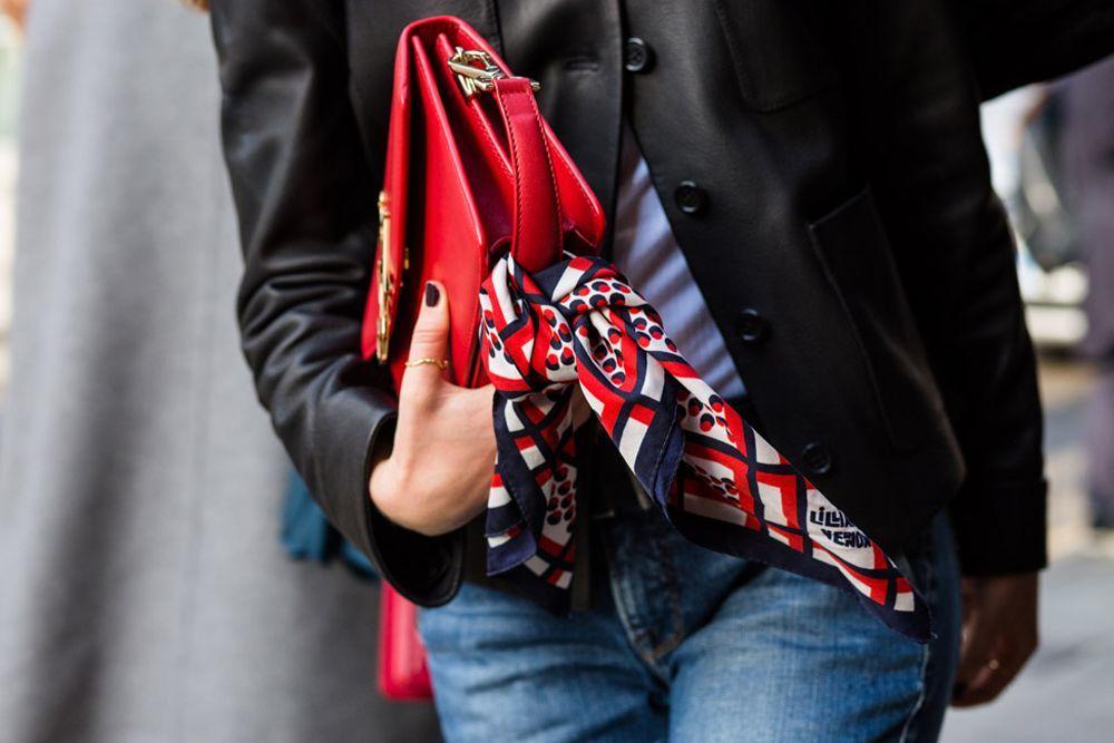 爱法式风情, 将丝巾与项链叠戴, 慵懒时髦, 免责声明:文字及图片来源