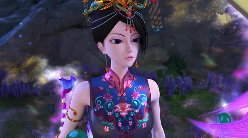 叶罗丽第六季,仙境第一美女终于出现,比冰公主更有气质图片