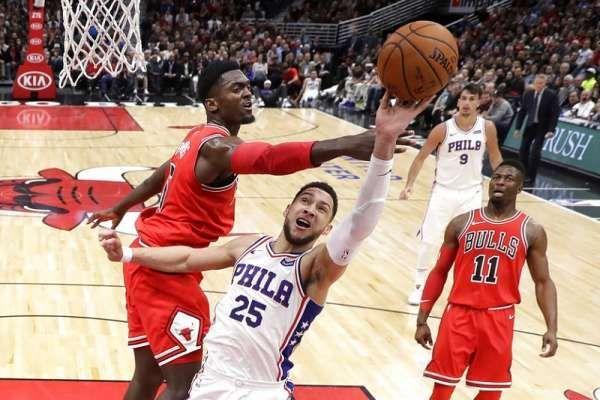 NBA推荐 NBA初盘分析:费城76人 VS 芝加哥公牛