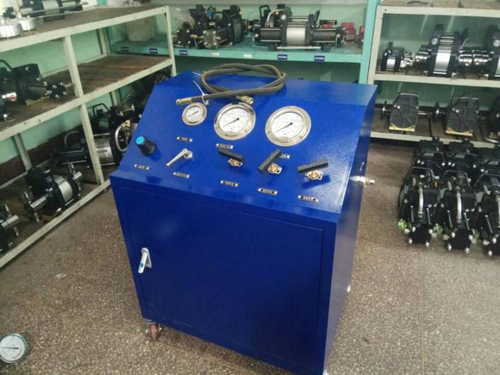 气动增压泵之气体增压在激光切割机上面的三种方案介绍
